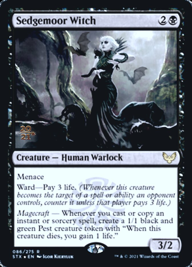 Sedgemoor Witch card from Prerelease Cards