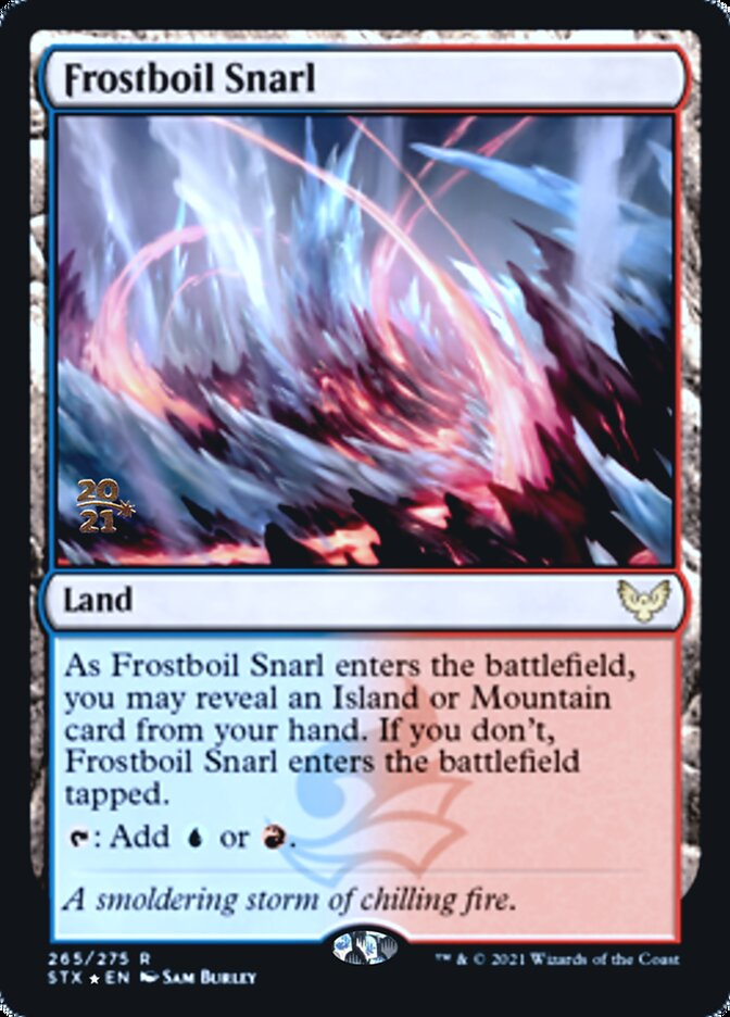 Frostboil Snarl card from Prerelease Cards
