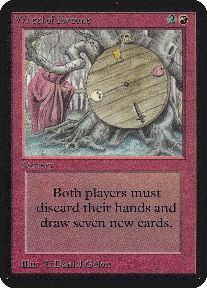 Wheel of Fortune (Oversized) card from Oversize Cards