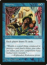 Prosperity (Oversized) card from Oversize Cards