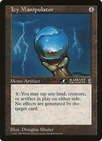 Icy Manipulator (Oversized) card from Oversize Cards