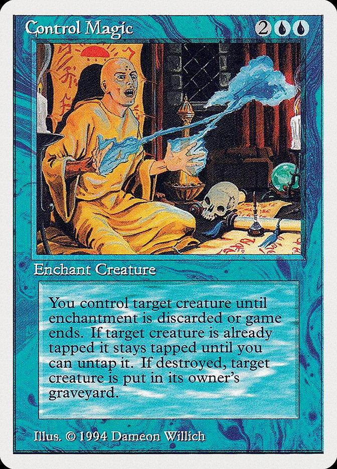 Control Magic card from Summer Magic