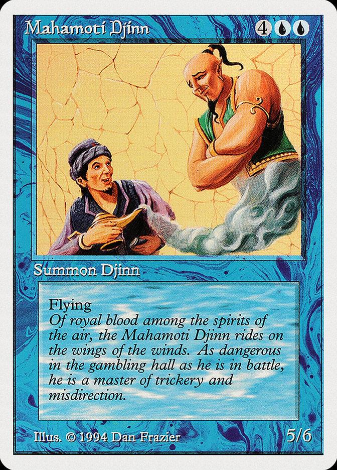 Mahamoti Djinn card from Summer Magic