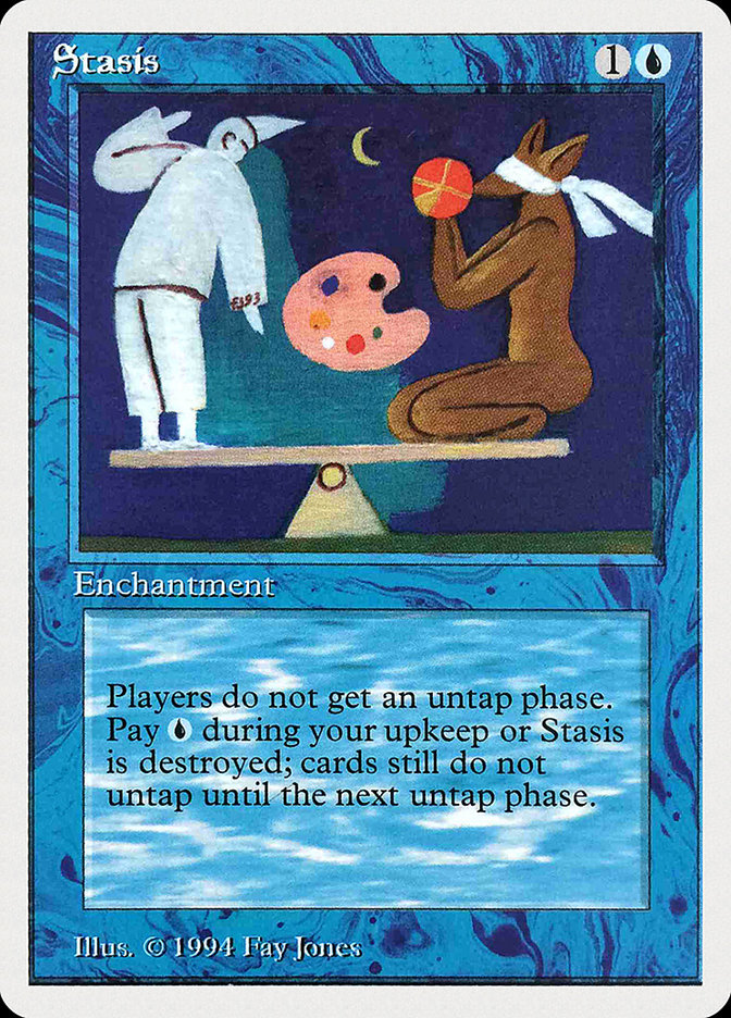 Stasis card from Summer Magic