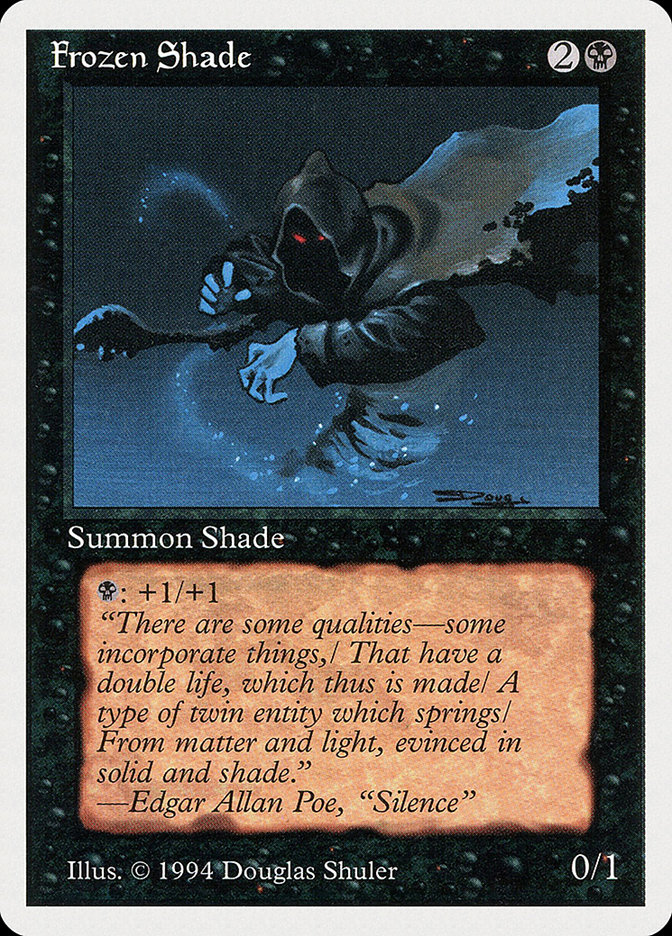 Frozen Shade card from Summer Magic