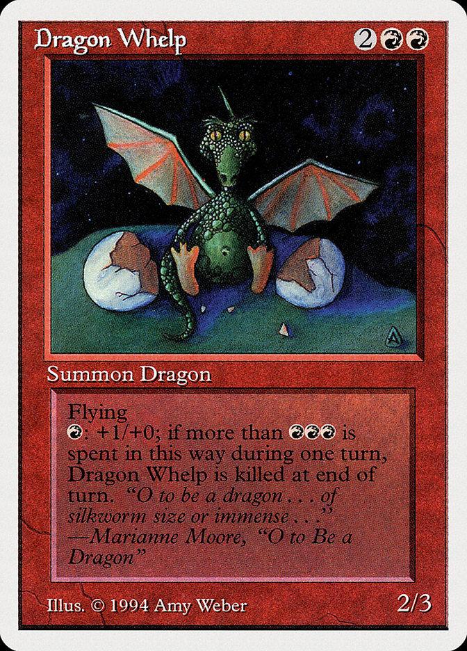 Dragon Whelp card from Summer Magic