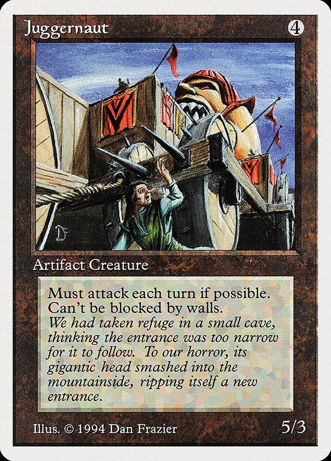 Juggernaut card from Summer Magic