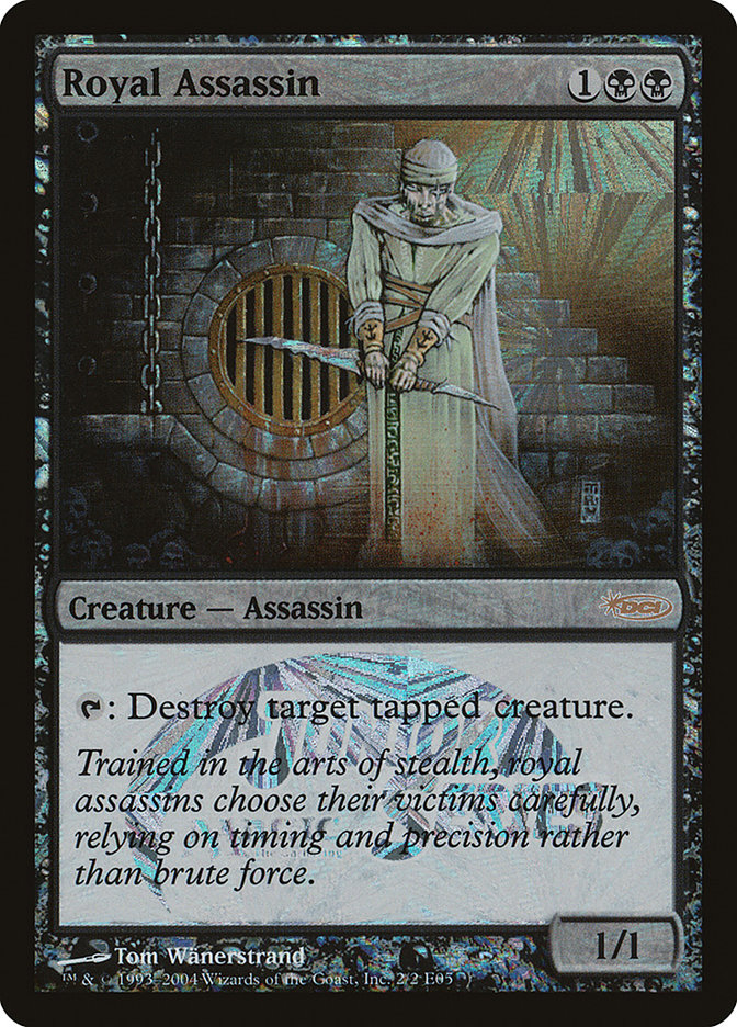 Royal Assassin (Junior Series) card from JSS/MSS Promos