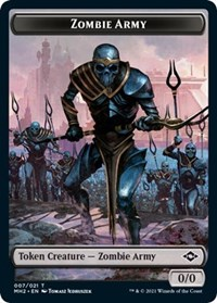 Zombie Army Token