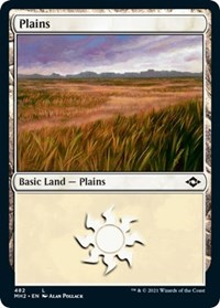 Plains (482) (Foil Etched) card from Modern Horizons 2