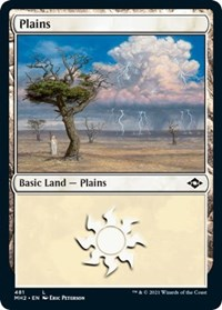 Plains (481) (Foil Etched) card from Modern Horizons 2