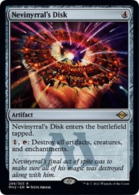 Nevinyrral's Disk (Foil Etched) card from Modern Horizons 2