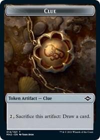 Clue (014) Token card from Modern Horizons 2