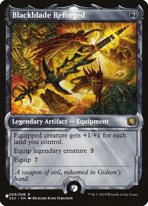 Blackblade Reforged card from The List