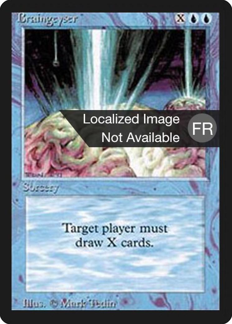 Braingeyser card from Foreign Black Border