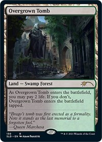 Overgrown Tomb card from Secret Lair Drop Series