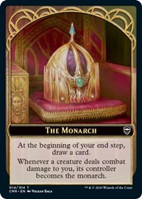 The Monarch // Spirit Double-sided Token