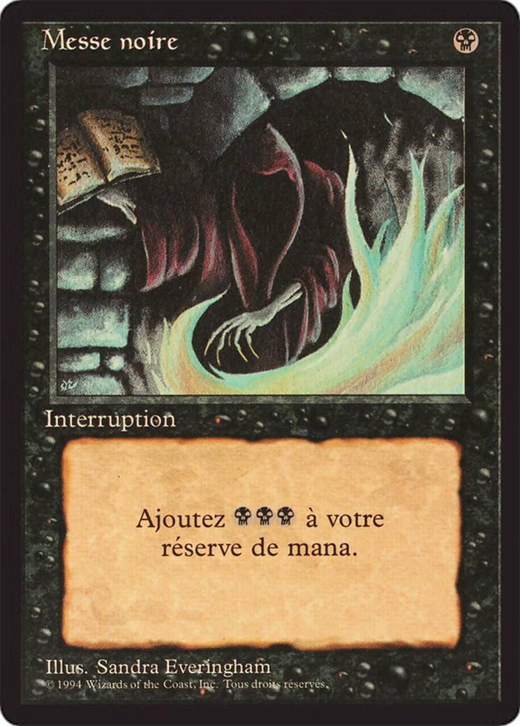 Dark Ritual card from Revised Edition (Foreign Black Border)