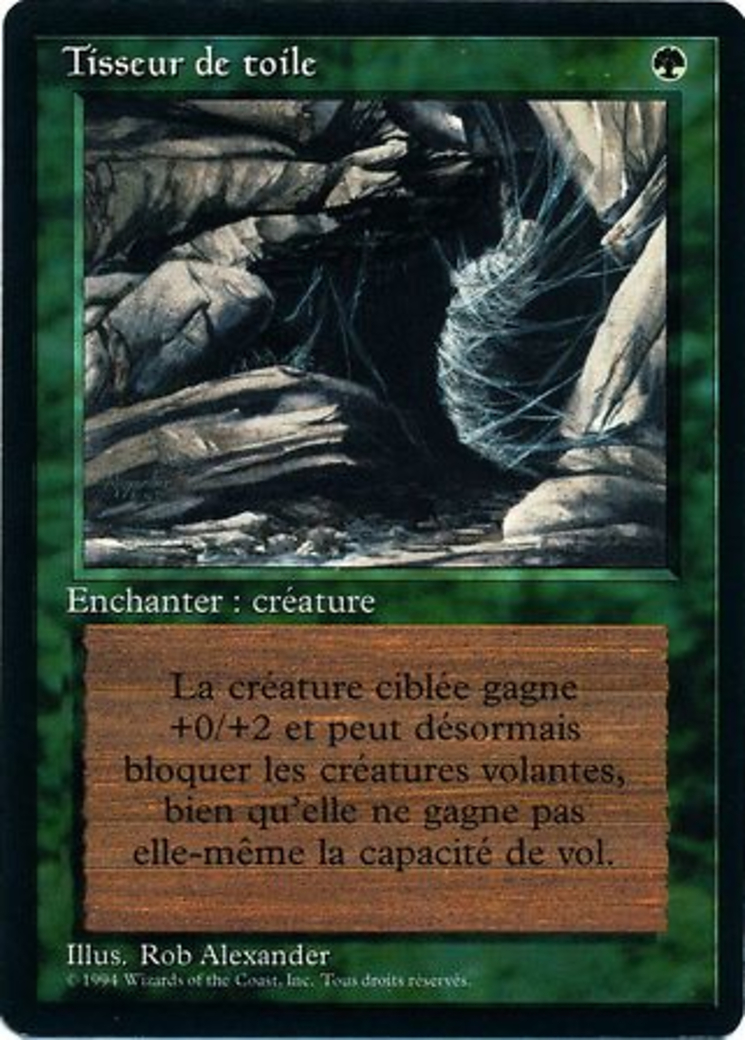 Web card from Revised Edition (Foreign Black Border)