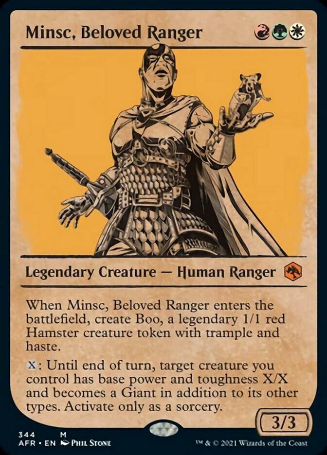 Minsc, Beloved Ranger (Showcase)