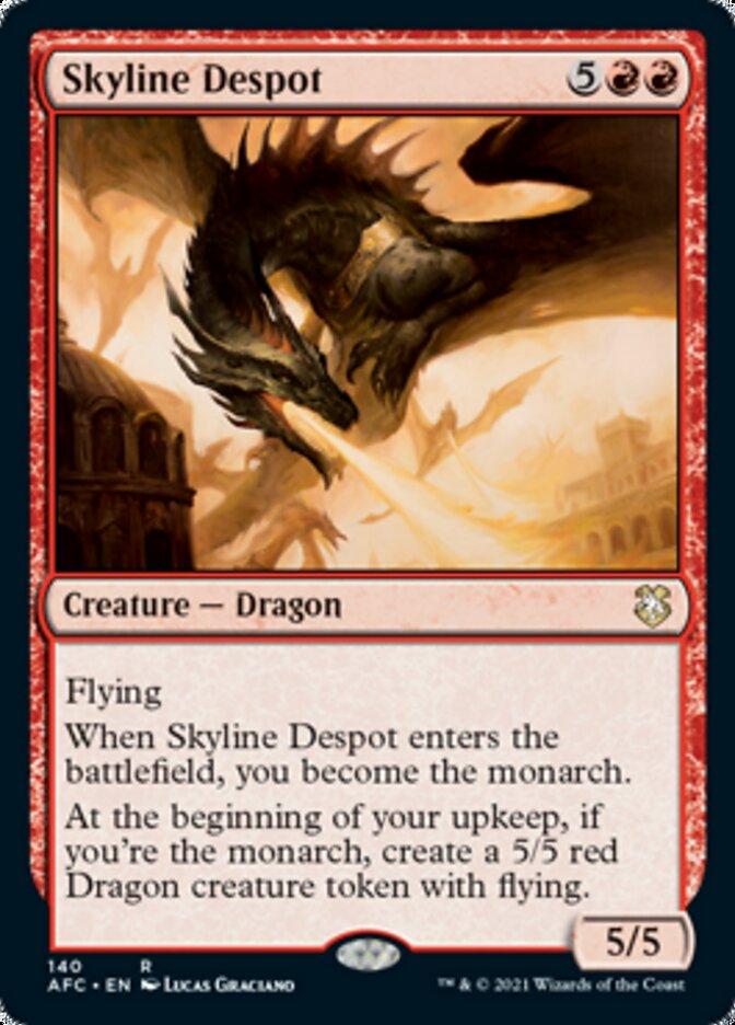 Skyline Despot card from Forgotten Realms Commander