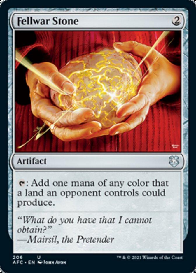 Fellwar Stone card from Forgotten Realms Commander