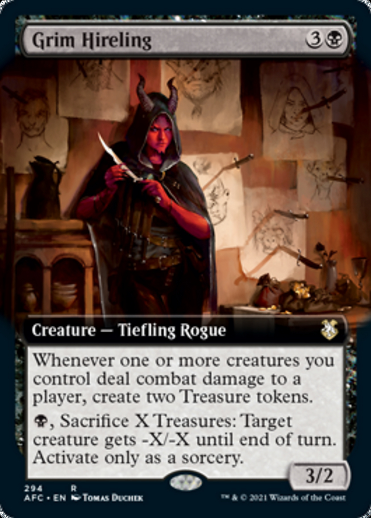 Grim Hireling (Extended Art)