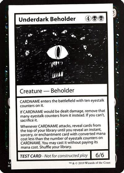 Underdark Beholder (No PW Symbol)