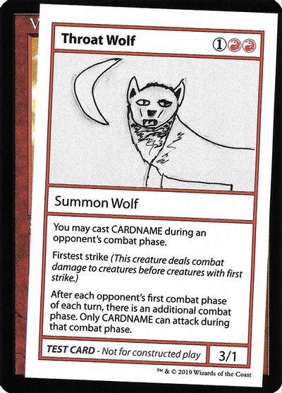 Throat Wolf (No PW Symbol)