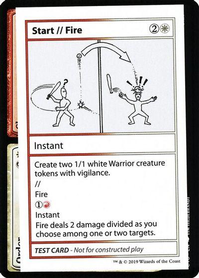 Start // Fire (No PW Symbol)