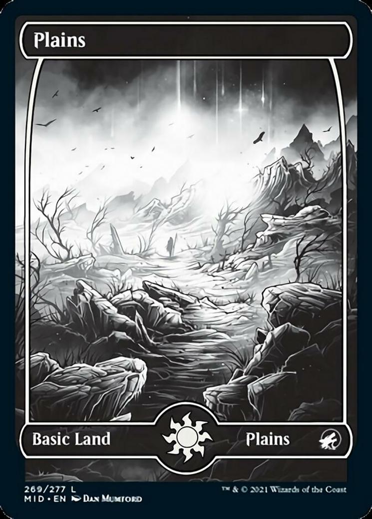 Plains (269) card from Innistrad: Midnight Hunt
