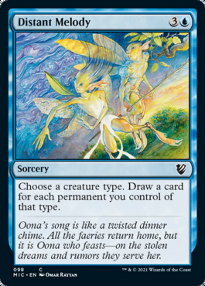 Distant Melody card from Commander: Innistrad: Midnight Hunt