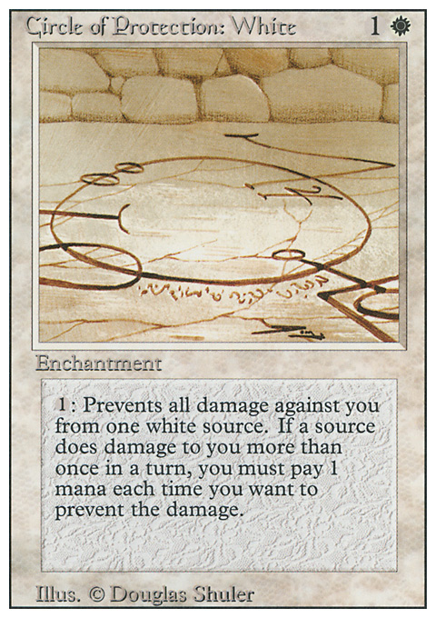 Circle of Protection: White