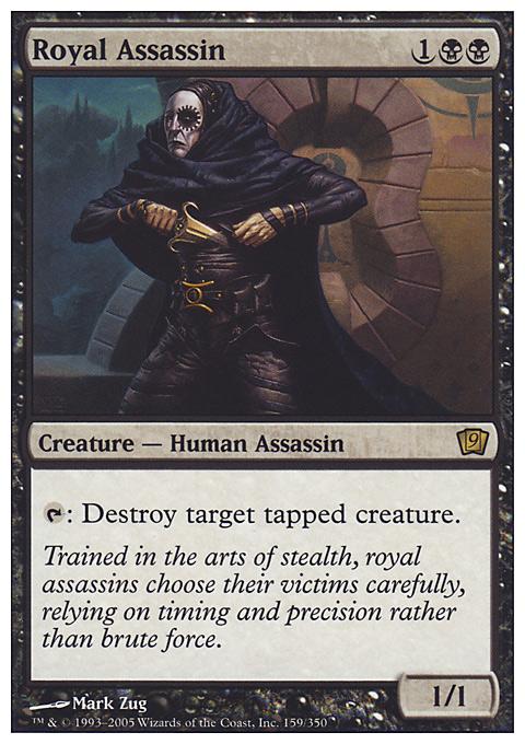 Royal Assassin card from Ninth Edition