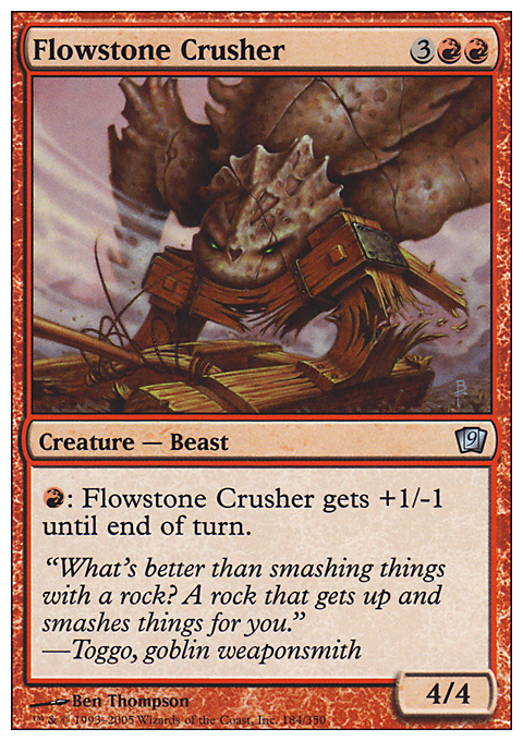 Flowstone Crusher
