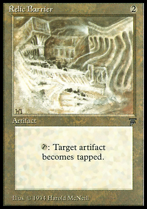 Relic Barrier
