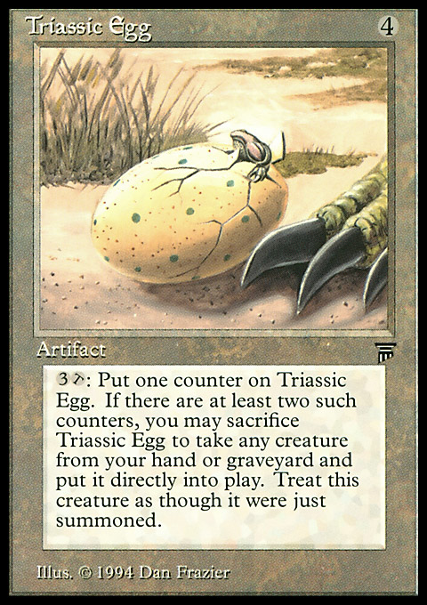 Triassic Egg