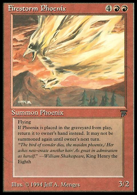 Firestorm Phoenix