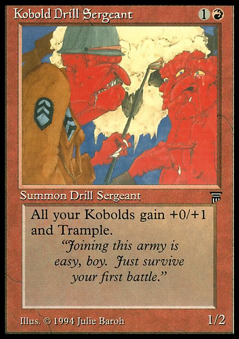 Kobold Drill Sergeant