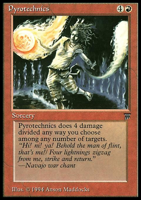 Pyrotechnics original card image