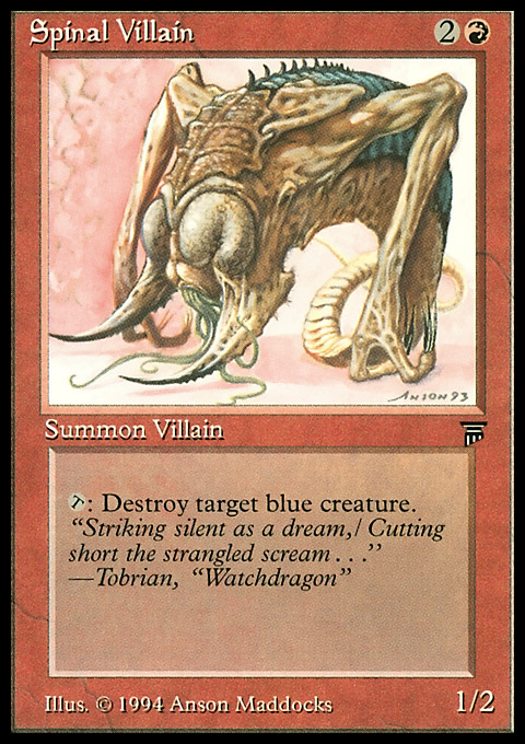 Spinal Villain original card image
