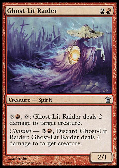 Ghost-Lit Raider