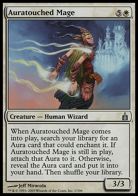Auratouched Mage card from Ravnica: City of Guilds