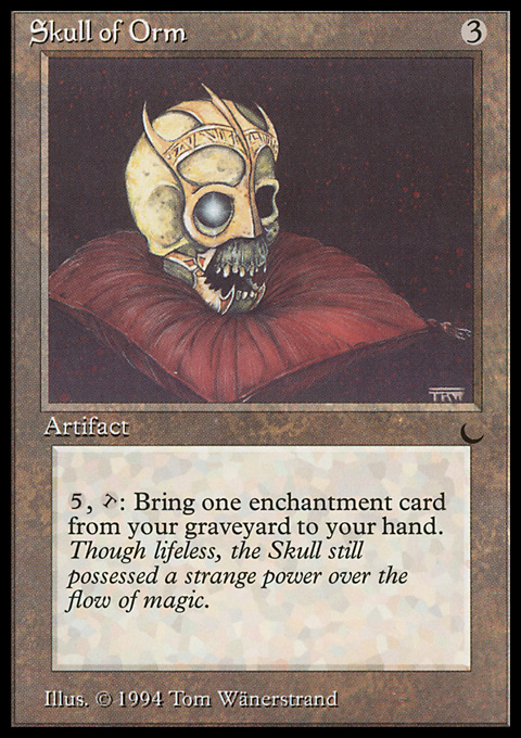 Skull of Orm original card image