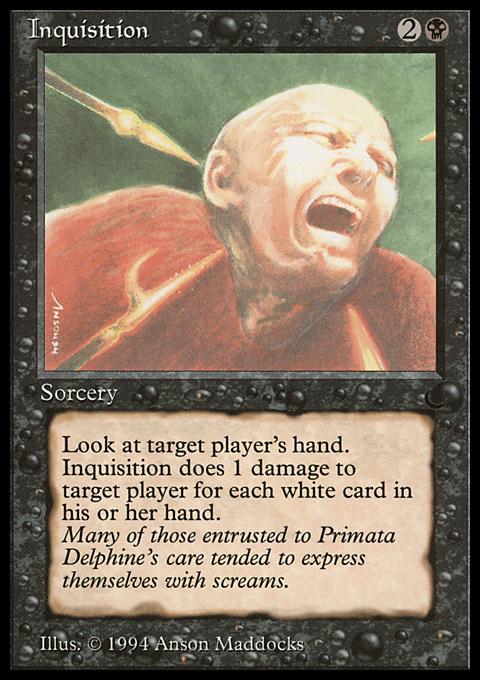 Inquisition original card image