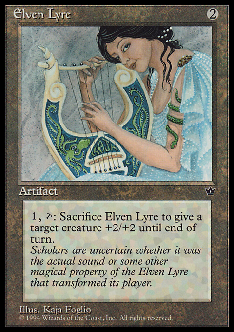 Elven Lyre