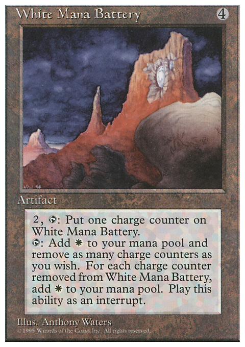 White Mana Battery
