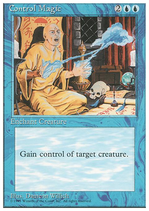 Control Magic card from Fourth Edition