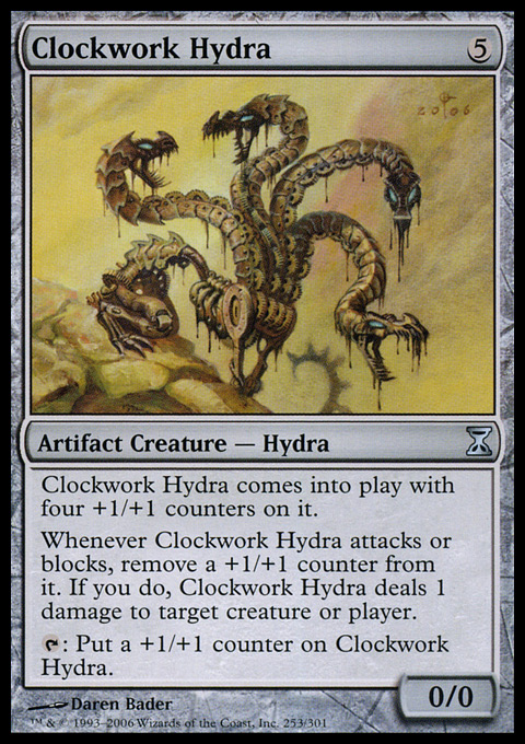 Clockwork Hydra card from Time Spiral