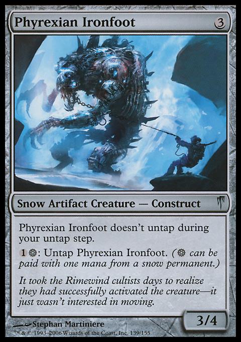 Phyrexian Ironfoot
